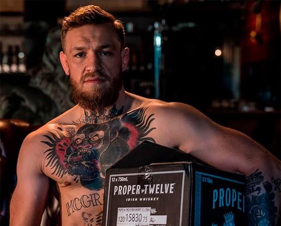 McGregor và nhãn hiệu rượu Proper Twelve