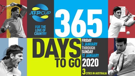 Hình ảnh quảng bá ATP Cup 2020