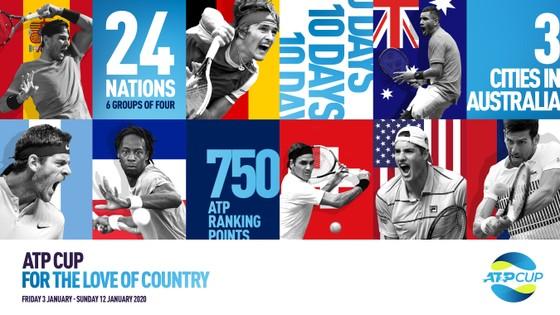 Federer, Nadal và Djokovic sẽ tham dự ATP Cup trị giá 22 triệu USD ở Australia ảnh 7