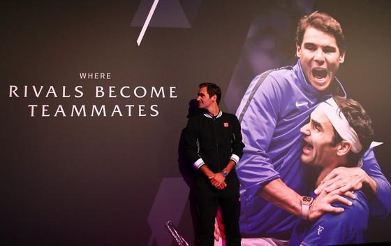 Laver Cup: Federer và Nadal sẵn sàng sát cánh vì đội tuyển châu Âu ảnh 5