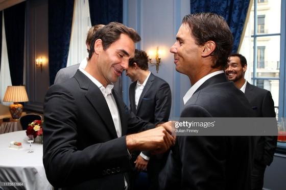 Laver Cup: Federer và Nadal sẵn sàng sát cánh vì đội tuyển châu Âu ảnh 3