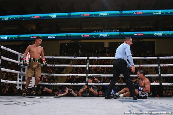 Quyền Anh: Oleksandr Usyk phi thăng hạng nặng – knock-out kỹ thuật Witherspoon ở hiệp 7 ảnh 3