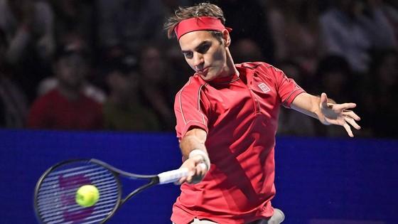 Federer thắng trận mở màn ở Basel
