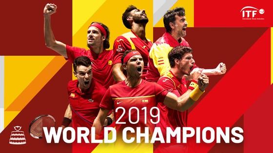 Nadal siêu nhân giúp Tây Ban Nha vô địch Davis Cup 2019