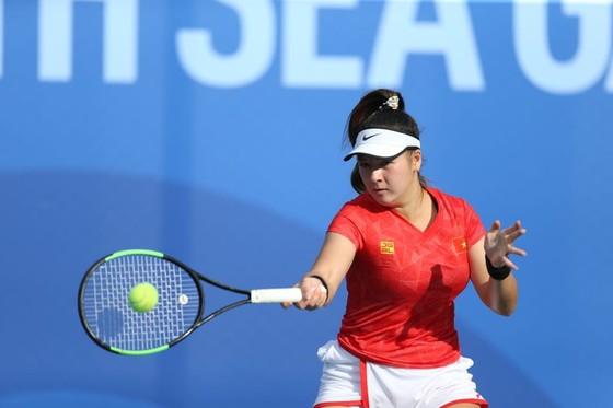 Quần vợt: Hai nữ tay vợt Việt kiều thắng trận mở màn có cửa giành huy chương ảnh 1