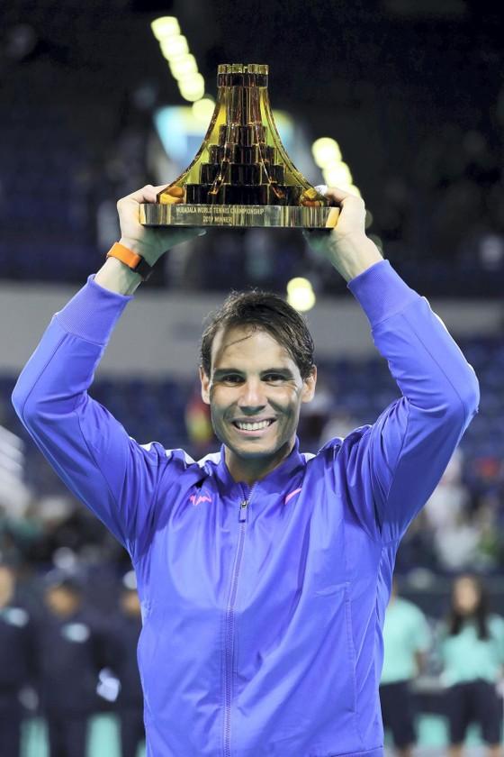 5 lần vô địch giải Mubadala World Tennis Championship, Nadal kiếm được 1,25 triệu USD ảnh 5