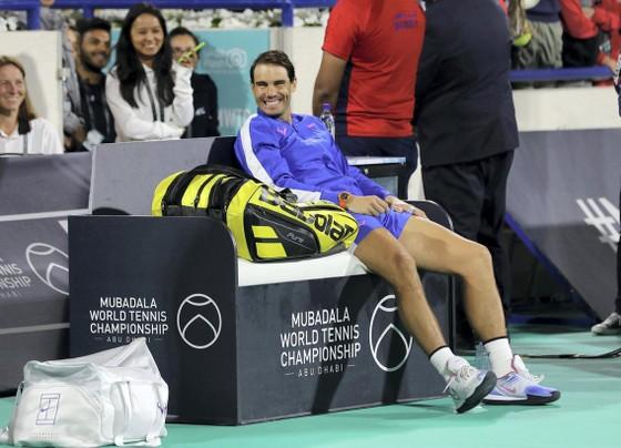 5 lần vô địch giải Mubadala World Tennis Championship, Nadal kiếm được 1,25 triệu USD ảnh 4