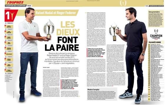 """Được L'Equipe vinh danh là """"Nhà vô địch của nhà vô địch"""", Nadal bỏ ngỏ cơ hội tham dự… Olympic 2024 ảnh 1"""