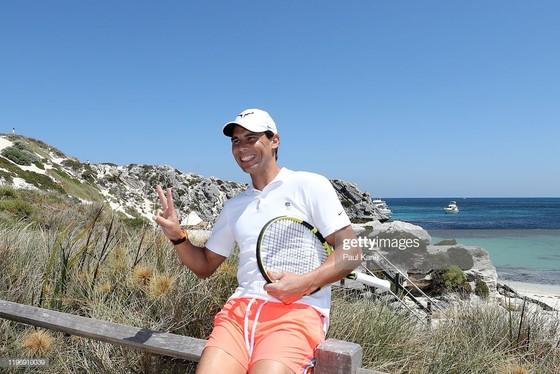 """ATP Cup: Nadal và """"dàn trai đẹp"""" Tây Ban Nha gây náo loạn bãi biển đảo Rottnest ảnh 3"""