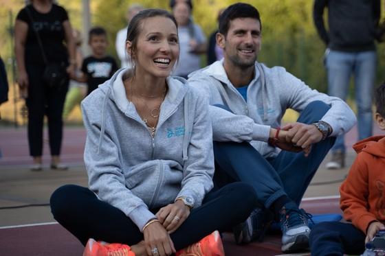 Gần đây, Jelena hiếm khi xuất hiện cùng chồng trước công chúng