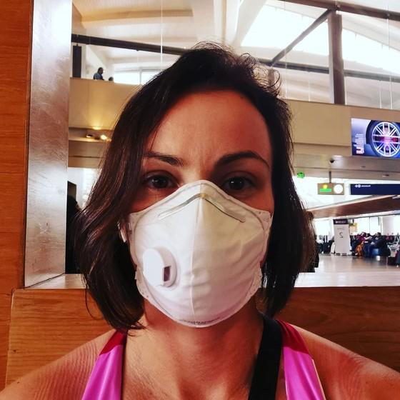 Shvedova bị cách ly bắt buộc khi vừa xuống sân bay
