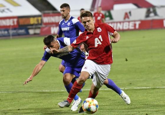 Davydov và lần hiếm hoi ra sân trong màu áo của CSKA Moscow