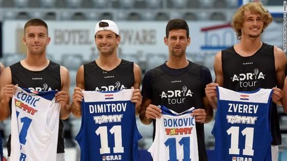Những tay vợt tham dự Adria Tour