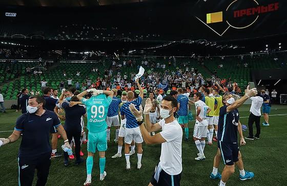 Zenit Saint Petersburg vui mừng ăn mừng ngôi vô địch Nga lịch sử, Ivanovic quẩy tưng bừng ảnh 3