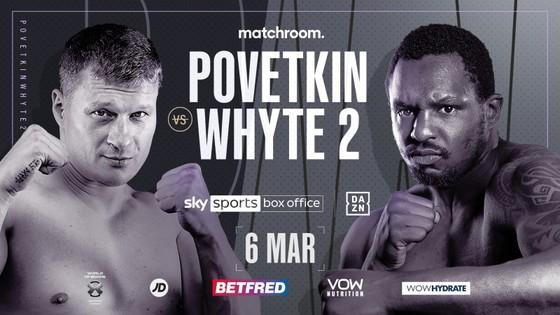 Trận tái chiến giữa Povetkin và Whyte sẽ diễn ra vào ngày 6-3 tới đây