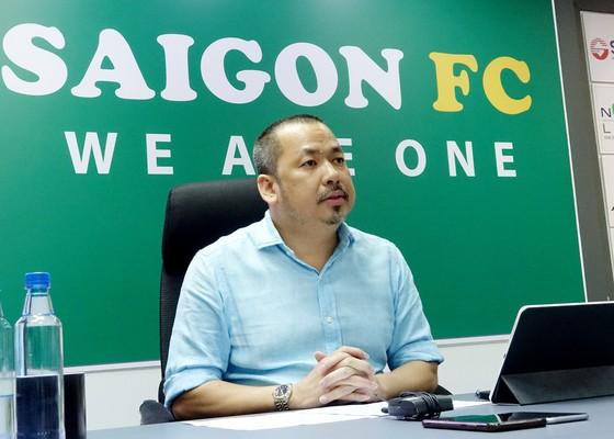 """""""Bầu Bình"""" chia sẻ về sứ mệnh chung của Sài Gòn FC, của những người làm bóng đá ở Việt Nam nói chung"""