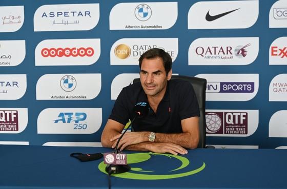 ATP Qatar Open: Lãng phí match-point, Federer bị loại - không thắng trận nào, Rublev vẫn vào bán kết ảnh 1