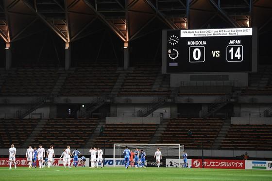 Vòng loại World Cup 2022 khu vực châu Á: Nhật Bản 'hủy diệt' Mông Cổ 20-0 sau 2 lượt trận ảnh 2
