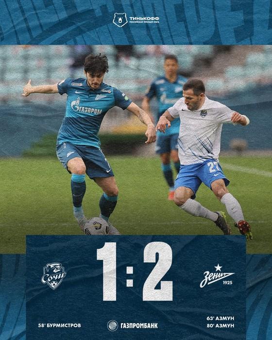 """""""Messi Iran"""" Sardar Azmoun: Thăng hoa cùng Zenit St Petersburg, sắp vô địch RPL lần thứ 3 liên tiếp ảnh 1"""