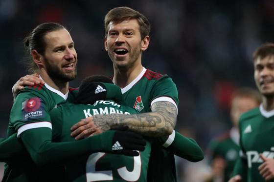 Niềm vui chiến thắng của Lokomotiv