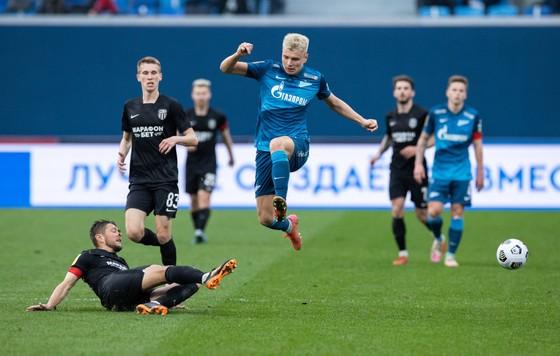 Zenit trên đỉnh cao của bóng đá Nga