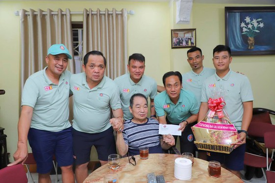 Sài Gòn FC: Giữa muôn trùng khó khăn vẫn duy trì hoạt động chia sẻ cộng đồng ảnh 3