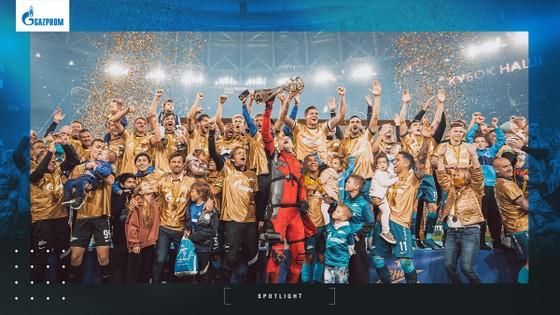 Zenit đã đăng quang RPL lần thứ 3 liên tiếp