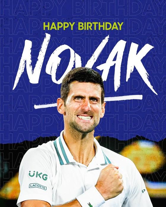 """Novak Djokovic: Được cả thế giới chúc mừng sinh nhật 34 tuổi, chuẩn bị tham gia giải """"Belgrade 2"""" ảnh 4"""