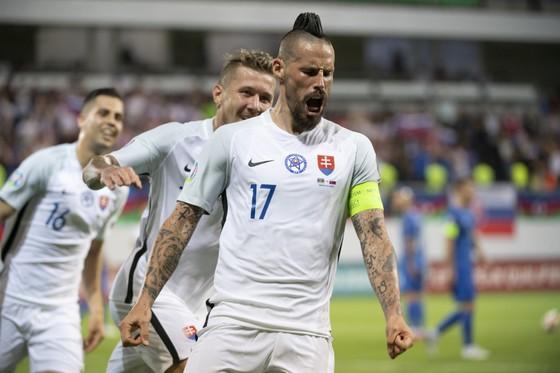 Marek Hamsik là trụ cột tinh thần của tuyển Slovakia