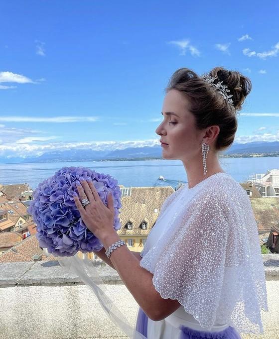 """Đám cưới dễ thương của """"Mỹ nhân Ukraine"""" Elina Svitolina và """"Sliderman"""" Gael Monfils ảnh 1"""