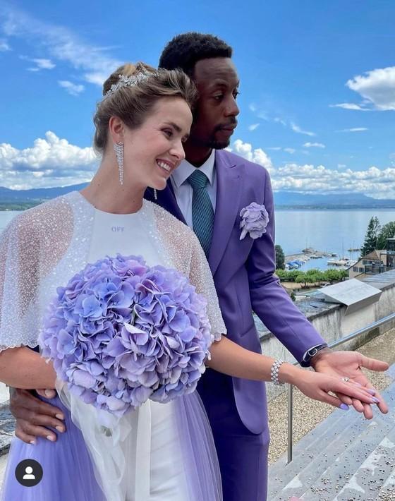 """Đám cưới dễ thương của """"Mỹ nhân Ukraine"""" Elina Svitolina và """"Sliderman"""" Gael Monfils ảnh 3"""
