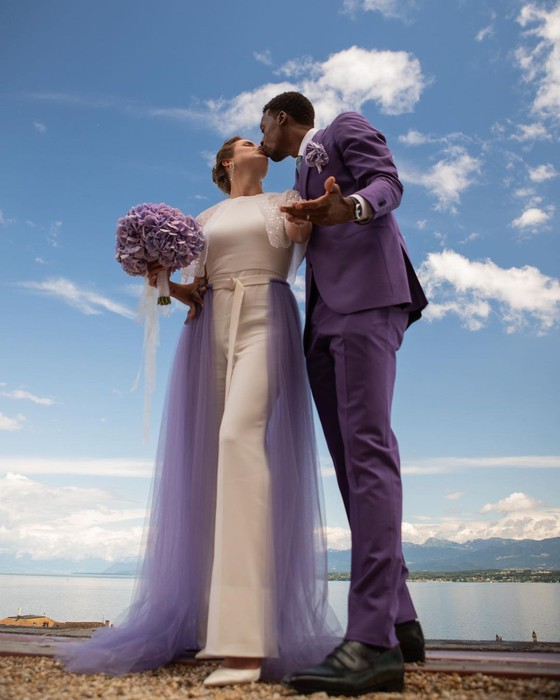 """Đám cưới dễ thương của """"Mỹ nhân Ukraine"""" Elina Svitolina và """"Sliderman"""" Gael Monfils ảnh 4"""