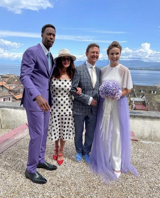 """Đám cưới dễ thương của """"Mỹ nhân Ukraine"""" Elina Svitolina và """"Sliderman"""" Gael Monfils ảnh 6"""