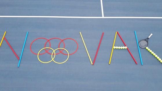 """Novak Djokovic đã đến Tokyo sẵn sàng cho """"Golden Slam"""", """"khắc tinh"""" Juan Martin del Potro vẫn theo dõi từ xa ảnh 4"""