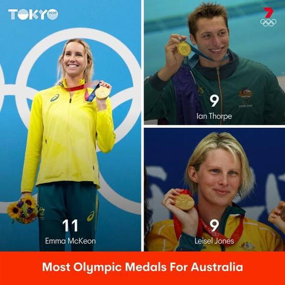 """Không phải Ariarne Titmus, Emma McKeon mới là """"thần tài"""" của làng bơi lội Australia ảnh 1"""