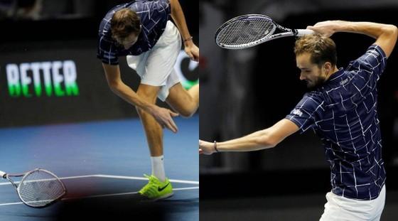 Canadian Open - Toronto Masters: Stefanos Tsitsipas đập vợt vì bị loại, Daniil Medvedev chiến Reilly Opelka ở CK ảnh 2
