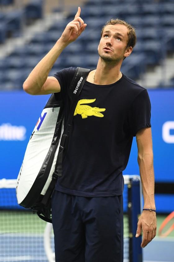 """US Open: Novak Djokovic, Daniil Medvedev gấp rút chuẩn bị cho """"đại chiến"""" ảnh 2"""