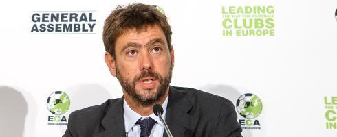 Andrea Agnelli sẽ phải rời khoi chức vụ Chủ tịch Juventus trong 1 năm . Anh: ANSA