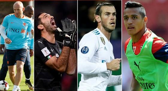 """Đội tuyển các ngôi sao """"lỡ tàu"""" World Cup 2018 ảnh 1"""