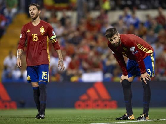 Đội tuyển Tây Ban Nha  có thể bị loại khỏi World Cup 2018. Ảnh: Getty Images.