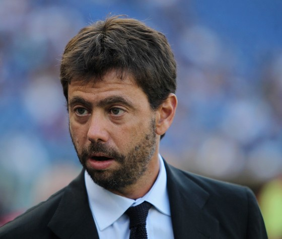 Chủ tịch Juventus Andrea Agnelli. Ảnh: Getty Images.