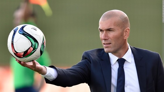 HLV Zinedine Zidane.