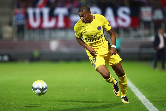 Kylian Mbappe. Ảnh Getty Images.