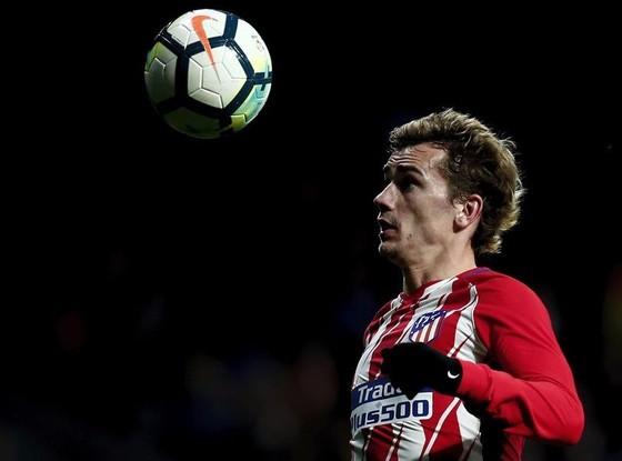 Antoine Griezmann ghi 4 bàn trong trận thắng Leganes. Ảnh: Getty Images.