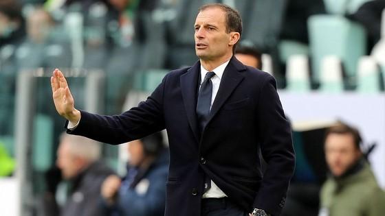 HLV Max Allegri vẫn chưa thắng được Champions League cùng Juventus.