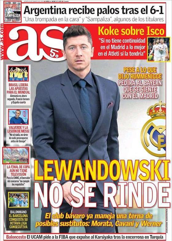 Lewandowski thỉnh cầu Bayern chuyển nhượng sang Real Madrid  ảnh 1