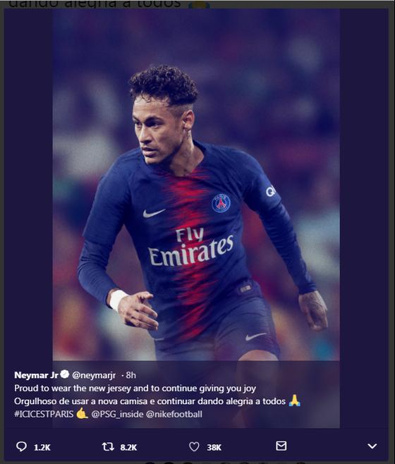 Mặc áo mới PSG, Neymar khẳng định sẽ không sang Madrid ảnh 1