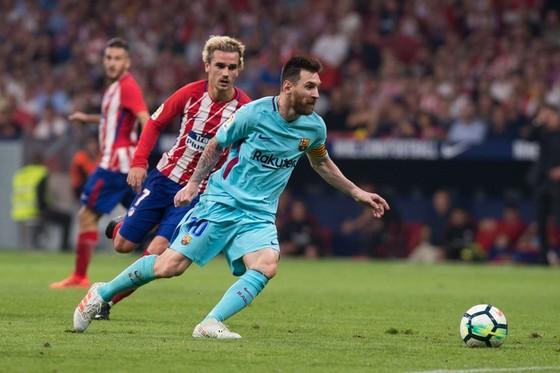 Messi ngợi ca Griezmann – cầu thủ chạy cánh phải tốt nhất hiện thời ảnh 1