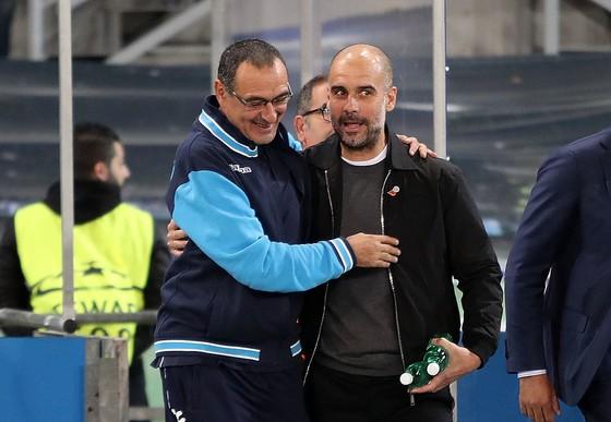 Pep Guardiola hào hứng khi Sarri đến Chelsea ảnh 2