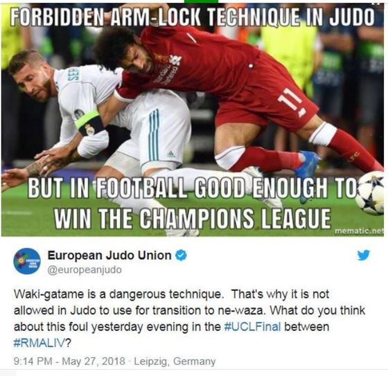 Sốc khi Ramos bị kiện 1 tỷ Euro vì gây thương tích cho Salah ảnh 3